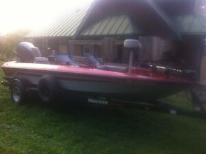 1999 Bass Tracker great condition may trade