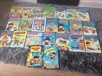 Various comic annuals inc Dennis the Menace
