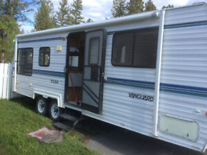 RVs campers trailers