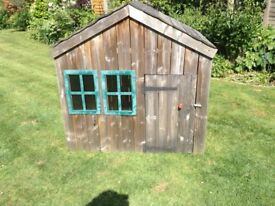 Childs wooden Wendy house