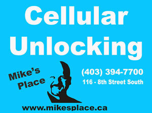 CELLULAR UNLOCK PHONE UNLOCKING SERVICE @ MIKE'S PLACE