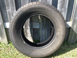 Winter tire,almost new, 215/70 R16 (16 inches).