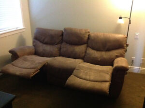 Lazy Boy Sofa with double recliner