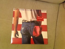 Bruce Springsteen Born in USA vinyl record album
