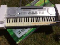 54 keys multifunction electronic keyboard.