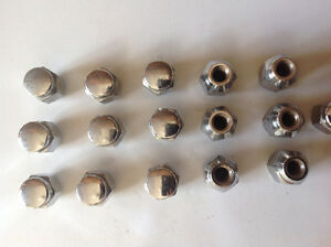 16 Crome Lug Nuts- From 1992 Firefly