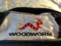 Woodworm golf travel bag