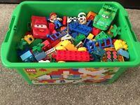 Lego Duplo sets 6130 and 5819 (DISNEY Cars 2)