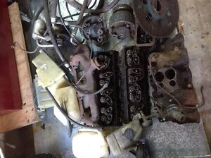 lots of 350 GM engine parts. SB heads exhaust manifolds