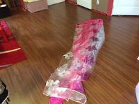Rideaux en rose/ Pink Curtains