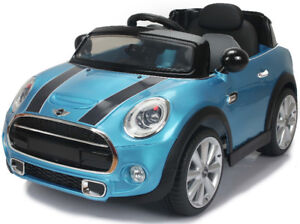 Mini Cooper Electric Ride-On Toy Car