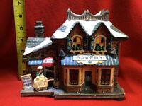 superbe village de Noel en céramique