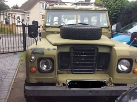 Land rover series 3 1972 tax exempt