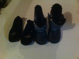 Boots and slippers (size 5-6) Regina Regina Area image 1