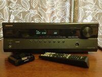 Onkyo HTR380 5.1 1080p 3D AV receiver/surround sound amplifier with iPod dock