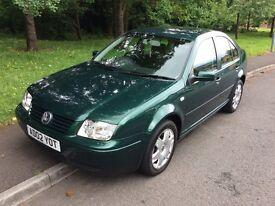 2002 Volkswagen Bora 1.9 SE TDI-36,000-1 owner-full history-12 months mot-exceptional opportunity