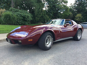 1977 Corvette for sale London Ontario image 2