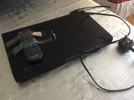 Panasonic DVD/CD PLAYER + remote