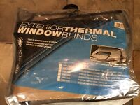 T5 external thermal blinds