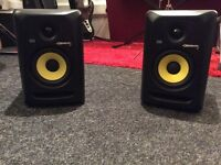 Pair of KRK Rokit 5 RP5 powered monitors in excellent condition