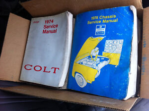 100 dodge Plymouth shop manuals   Must take them all $300