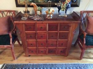 16 DRAWER ANTIQUE CHINESE CHEST
