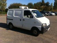 5a0d63a692 Suzuki carry fridge van 1.3 petrol 2005 05 reg 117.000 miles