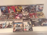 Bargain Joblot 20 X Sony Playstation 3 PS3 games