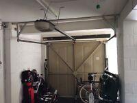 Automatic garage doors