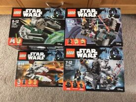 Lego Star Wars New & Sealed Boxed Sets