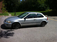 1996 Honda Civic Cx 5 - SPEED Hatchback CERTIFIED & E-TESTED
