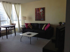 Furnished downtown condo June and July $1850 each month