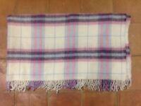 Brand new woollen blanket