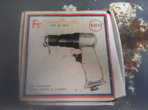 Air hammer with chisels never used