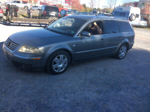 2003 VW Passat W8 4 Motion , Auto , 285 HP, No MVI $2200.00