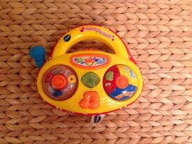 Vtech soft singing radio toy