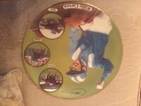 """Royal doulton, limited Willie Carson plate, 12"""" no. 75."""
