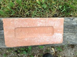 Antique Red Clay Brick
