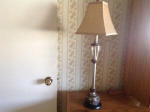 Bronze Buffet Lamp