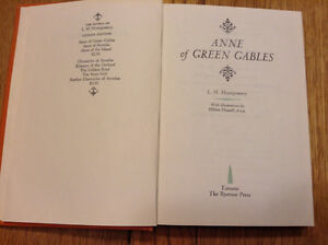 "HARDCOVER ""ANNE OF GREEN GABLES"" BOOK IS A CLASSIC"