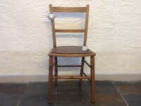 Beautiful vintage oak chair