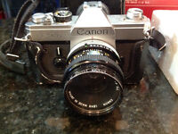 Vintage  35mm Canon Camera