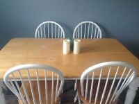 Kitchen table 6 chairs and stool