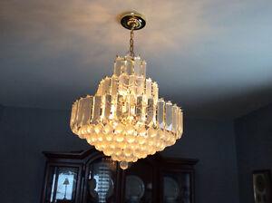 Beautiful chandelier light
