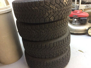 4 tires with rims
