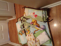 Crib &. Bedding