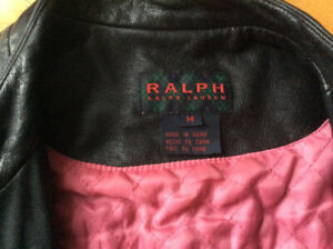 Leather jacket M by Ralph Lauren