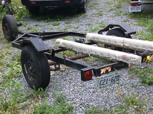 Boat trailer and utility trailer