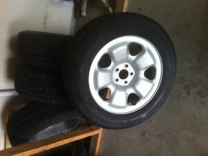 Jeep Cherokee Snow Tires and Rims