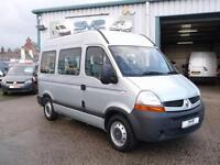 RENAULT MASTER 9 SEAT MINIBUS WITH WHEEL CHAIR LIFT ULTRA LOW 23000 MILE @ SVS
